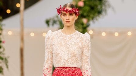 La sfilata Chanel Haute Couture Primavera/Estate 2021