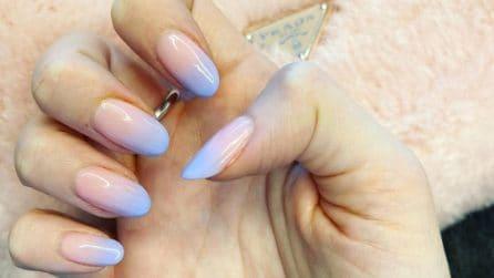Unghie ombré, la nail art più trendy dell'inverno 2021