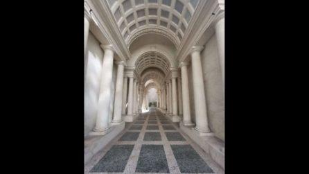 Palazzo Spada, l'illusione prospettica della Galleria del Borromini
