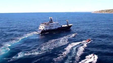 Lo yacht extra-lusso di Bernie Ecclestone