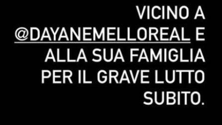 Morto il fratello di Dayane Mello, le reazioni degli ex GF Vip