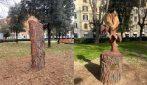 """""""Rosa"""", la meravigliosa scultura in memoria di Pamela Mastropietro"""