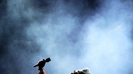 Le foto di The Weeknd sul palco del Super Bowl 2021