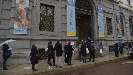 Milano in zona gialla, riaprono musei e mostre