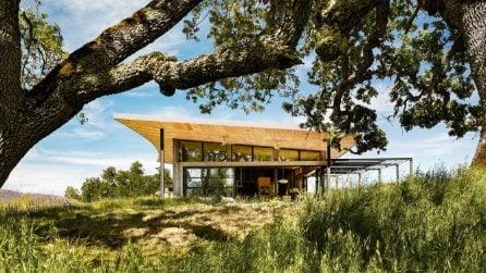 """La Caterpillar House, dove è stato girato il film """"Malcolm & Marie"""" di Netflix"""