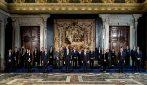 Governo Draghi: le immagini del giuramento al Quirinale