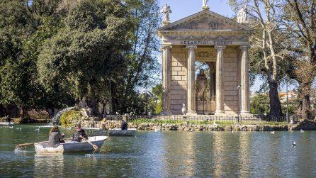 Idee per San Valentino a Roma: un giro romantico in barca nel laghetto