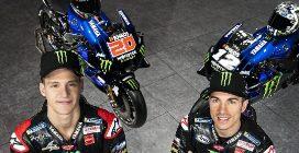 La nuova Yamaha M1 di Vinales e Quartararo per la MotoGP 2021