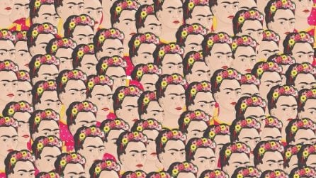 In questa foto c'è una Frida senza sopracciglia: riesci a trovarla?