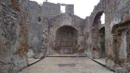 Nel paese fantasma di Monterano, set dei film Ben Hur e Il Marchese del Grillo