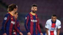 Lo scambio d'insulti tra Piqué e Griezmann