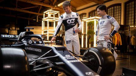 La nuova Alpha Tauri per il Mondiale 2021 di Formula 1