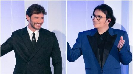 Stefano De Martino e Renato Zero nella settima puntata di C'è posta per te 2021