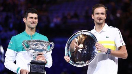 Australian Open, la finale Djokovic-Medvedev