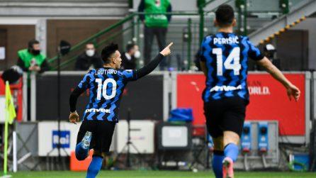 Serie A, le immagini del derby Milan-Inter