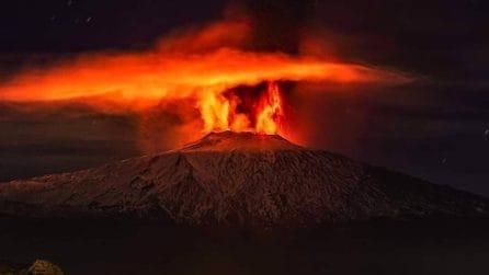 Etna, le eruzioni viste con scatti suggestivi