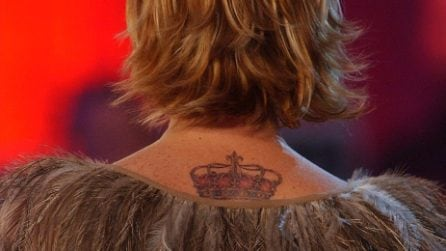 I tatuaggi di Simona Ventura