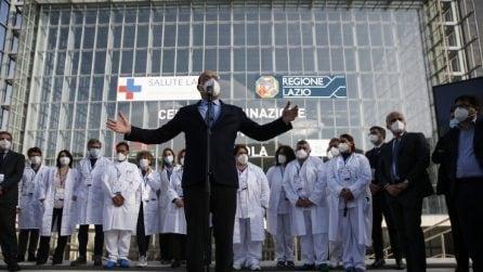 Roma, la Nuvola di Fuksas diventa un centro per la vaccinazione