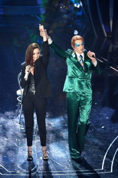 L'esibizione a Sanremo 2020