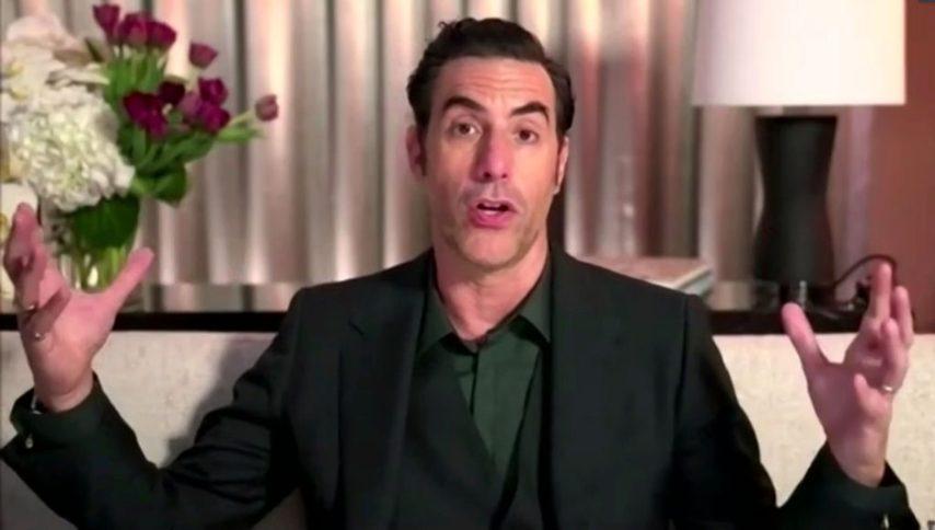 Miglior attore protagonista in un film musical o commedia Sacha Baron Cohen,Borat
