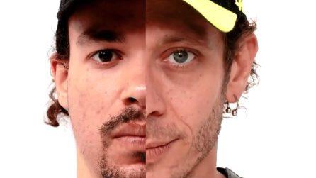 Le foto di Rossi e Morbidelli con la Petronas