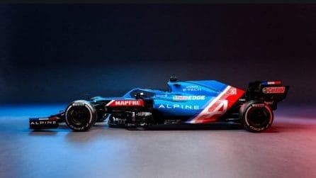 La Alpine F1 A521 per il Mondiale 2021 di Formula 1