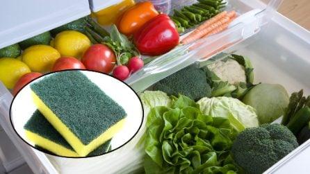 Come mantenere la verdura fresca in frigo
