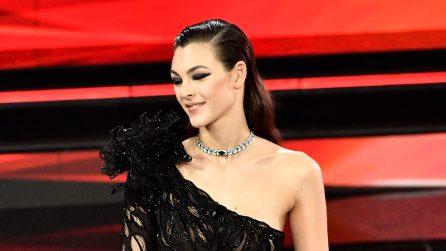 I look di Vittoria Ceretti a Sanremo 2021