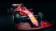 Mondiale F1 2021, presentata la nuova Ferrari SF21