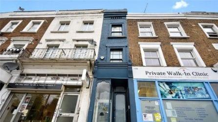 Vendesi la casa più stretta di Londra: gli interni sono sbalorditivi