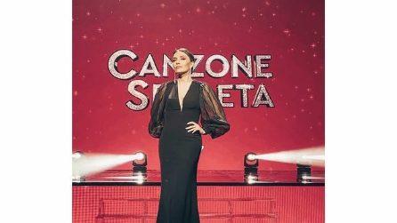 """Gli abiti di Serena Rossi per la trasmissione """"Canzone Segreta"""""""
