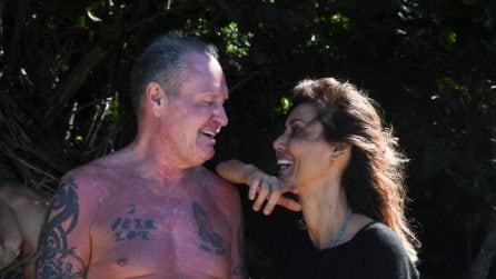 Paul Gascoigne e Daniela Martani all'Isola dei Famosi 2021: le foto del presunto flirt