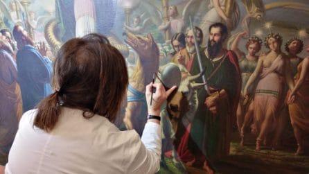 Dantedì, i quadri della Divina Commedia restaurati al Palazzo Reale di Napoli