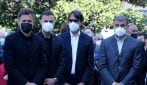 L'ultimo saluto della Lazio ai funerali di Daniel Guerini