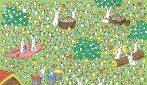 In questo disegno c'è un uovo bianco, riesci a trovarlo?