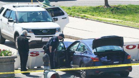 Usa, auto travolge poliziotti: muore un agente, aggressore ucciso