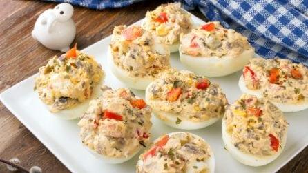Aperitivi di Pasqua: idee semplici e gustose con le uova sode