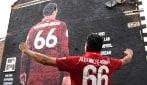 Il murale nelle strade di Liverpool dedicato a Trent Alexander-Arnold