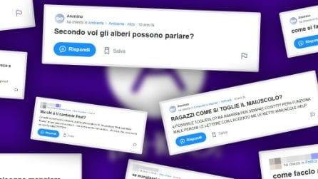 Le domande più bizzarre di Yahoo Answers