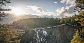 Questo è il ponte sospeso più alto del Canada