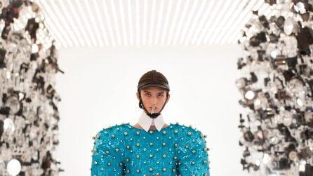 La sfilata Gucci Aria