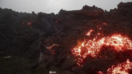 Guatemala, le immagini dell'eruzione del vulcano Pacaya