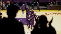 NBA – I tifosi dei Los Angeles Lakers tornano allo Staples dopo 13 mesi