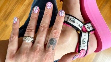 La manicure hippie dei Ferragnez