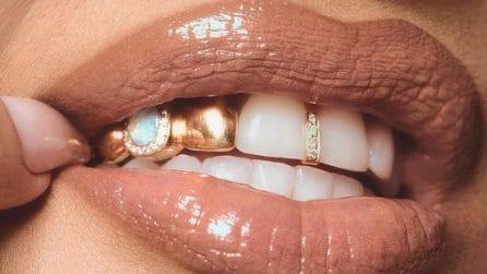 Le star che hanno indossato i gioielli da denti