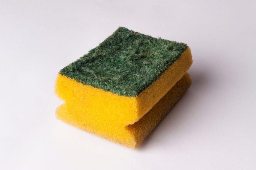 Clean the kitchen sponges.