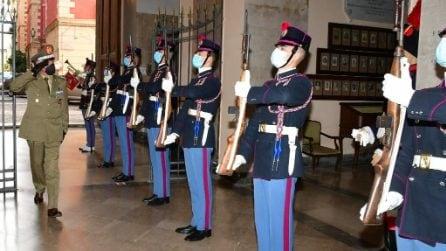 Il capo di stato maggiore dell'Esercito in visita alla Nunziatella