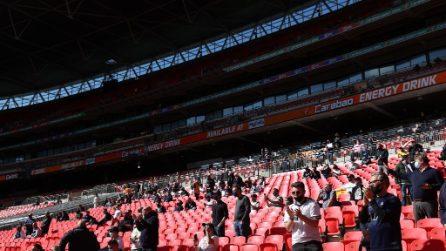 Manchester City-Tottenham si gioca davanti a 8mila tifosi