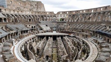 Roma, zona gialla: riapertura del Colosseo al pubblico