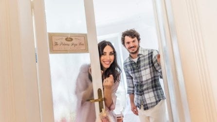Francesca Rocco e Giovanni Masiero aprono le porte della propria casa